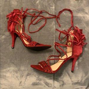 Jessica Simpson Mareya Tie Up Heels